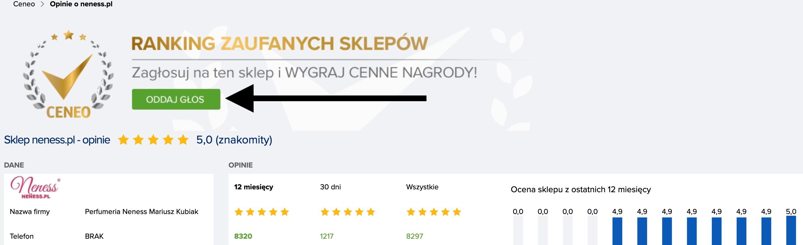 Oddaj głos na Neness.pl